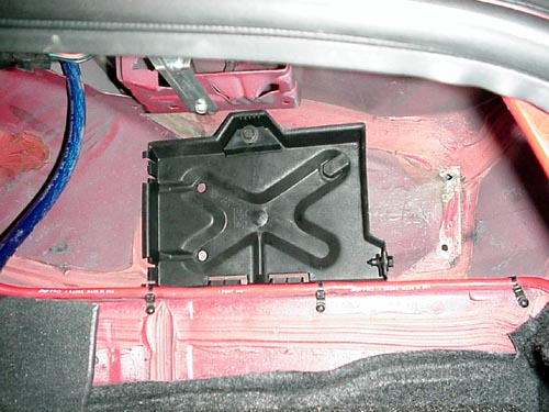 Battery Tray In Well